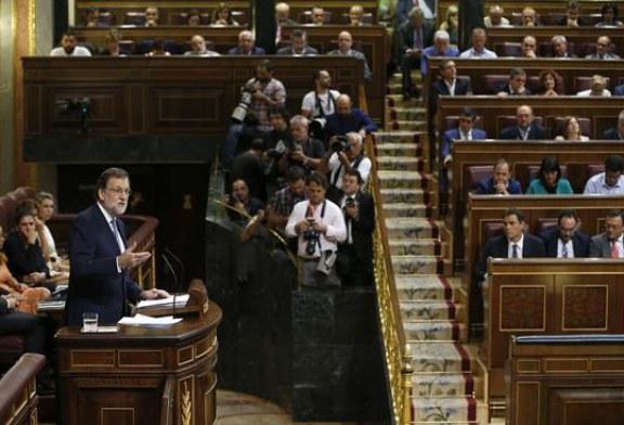 """Rajoy pide a Sánchez """"responsabilidad"""" y que le deje gobernar"""