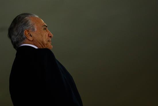 Temer jura como nuevo presidente de Brasil tras la destitución de Rousseff