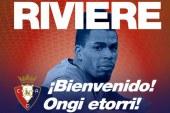 Rivière jugará cedido en Osasuna