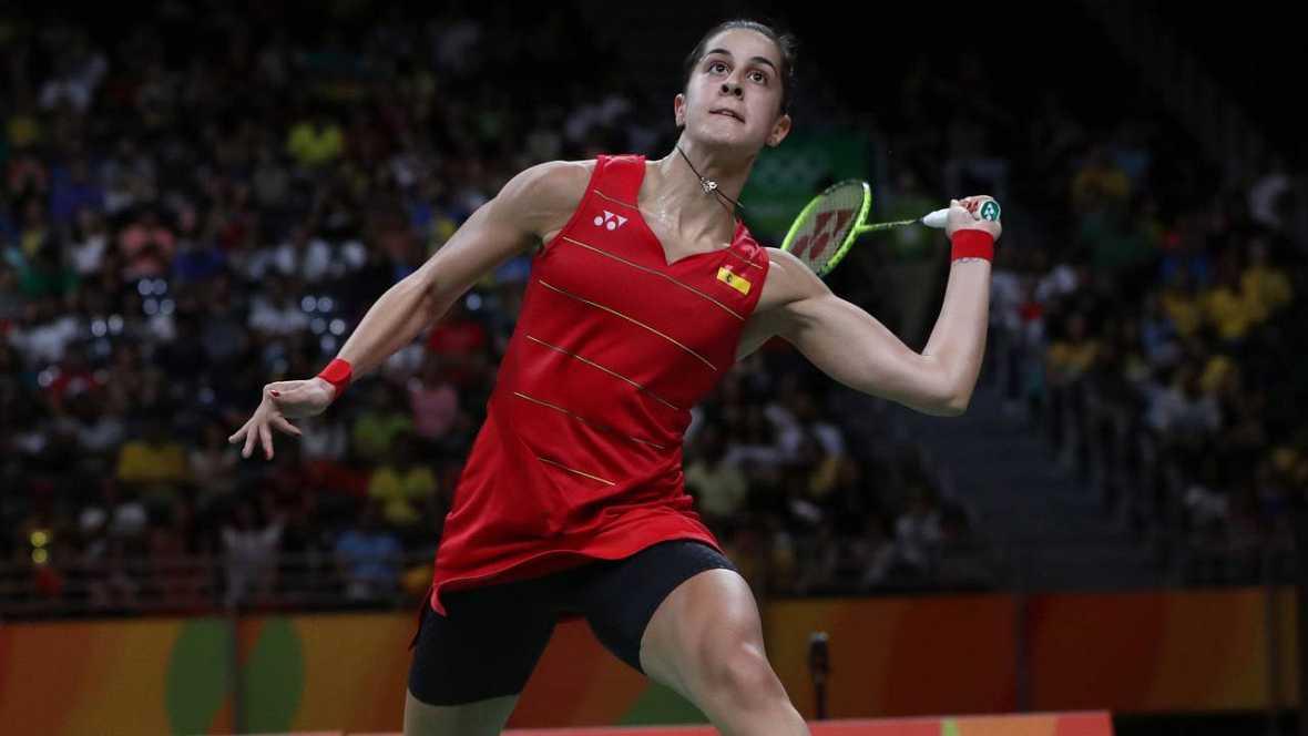 Río 2016: Carolina Marín, campeona olímpica tras superar a Sindhu en la final