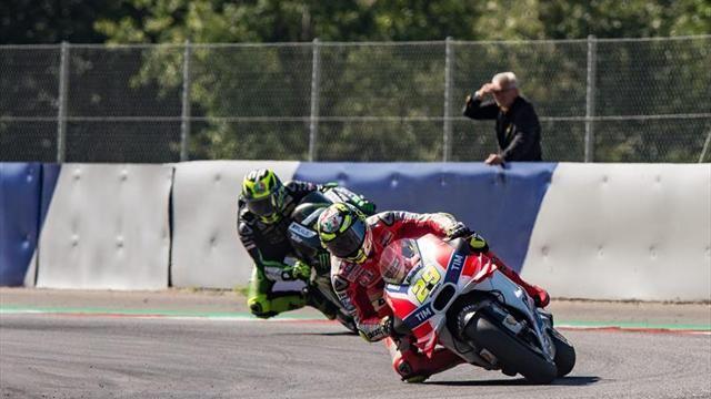 MotoGP: Iannone, trasladado en helicóptero a un hospital tras una fortísima caída