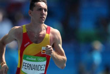 El navarro Sergio Fernández, primer español que supera una ronda en Río