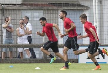 Osasuna encara la recta final de  preparación para medirse al Sevilla Atlético