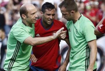 Javier Flaño, «agradecido» al club por la renovación