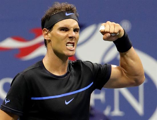 Tenis de EEUU: Nadal triunfa y pasa a la tercera jornada y Djokovic pasa sin jugar