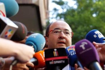 Iceta pedirá amparo al TC tras la actitud «sectaria» del independentismo