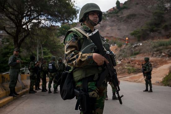 El Gobierno de Venezuela detiene a cuatro personas acusadas de golpismo