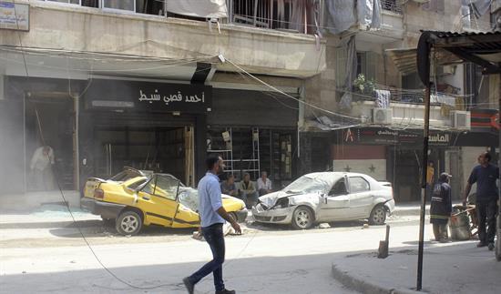 Noventa muertos en bombardeos en el norte de Siria tras el acuerdo del alto el fuego