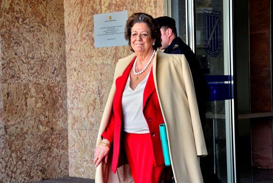 Barberá mantiene su escaño como senadora y presenta su baja en el PP