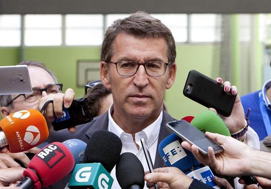 Feijóo: Sólo quieren el referéndum y no se puede negociar lo innegociable