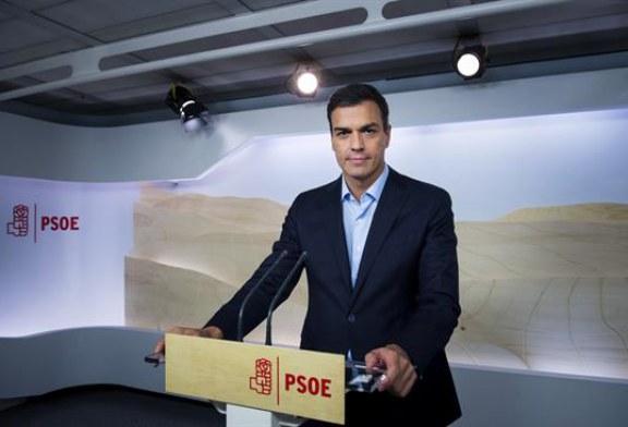 Sánchez pide decidir entre una gestora y la abstención a Rajoy o un Congreso