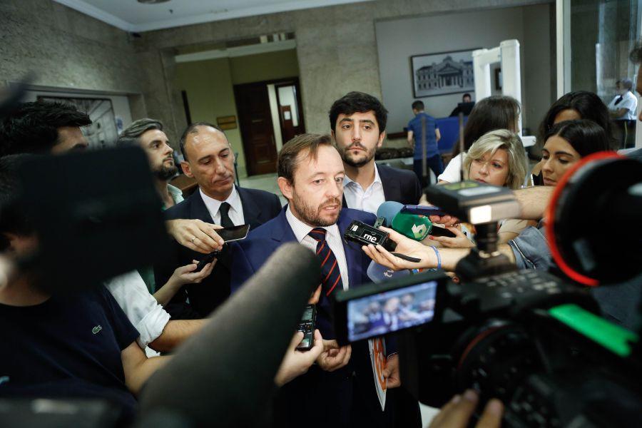 """De la Torre (C's): """"Antes de exigir un euro a los contribuyentes honestos, hay que aplicar la ley a los defraudadores"""""""