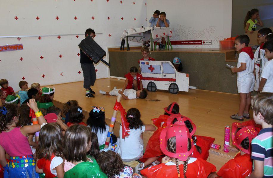 Más de 400 participantes en las Colonias Urbanas de Verano de Cruz Roja Navarra
