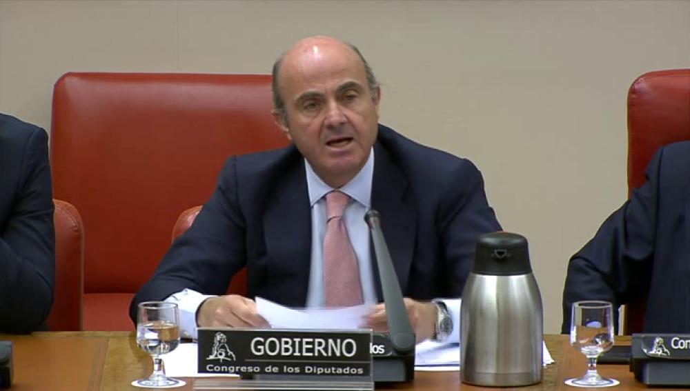 De Guindos reconoce que el puesto para Soria es de «designación discrecional»