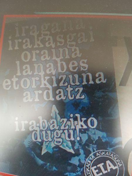 ETA vuelve a las calles de Lekeitio