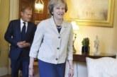 """Tusk pide """"propuestas"""" a May y que la UE se prepare """"por si no hay acuerdo"""""""