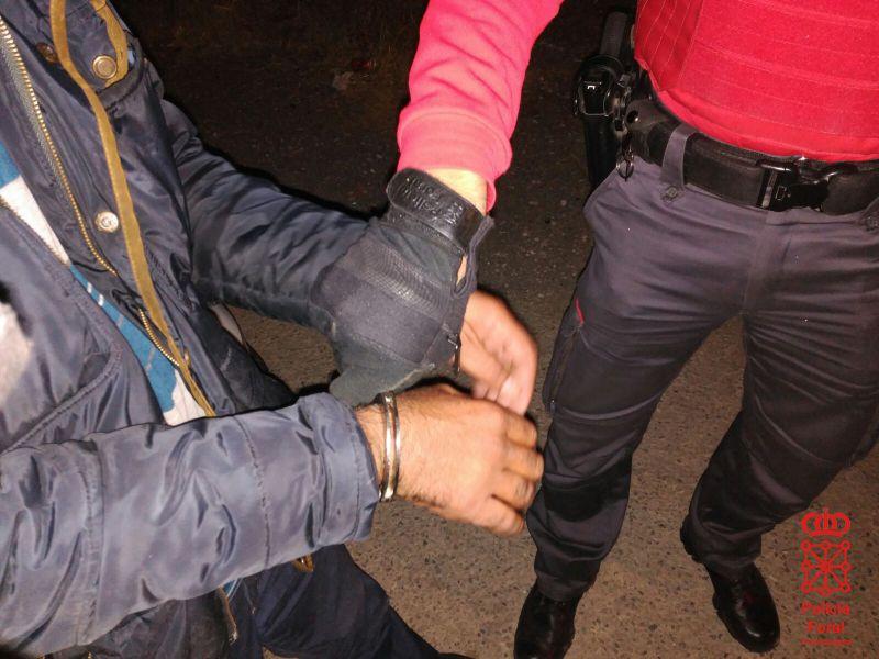 Detenido un vecino de Berriozar por un presunto delito de estafa bancaria