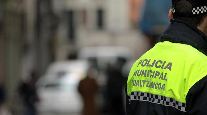 Detenido en Pamplona un hombre en el domicilio de su madre con condena de alejamiento