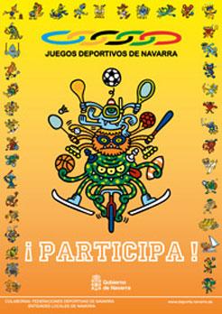 23.000 menores participarán en la nueva edición de los Juegos Deportivos de Navarra