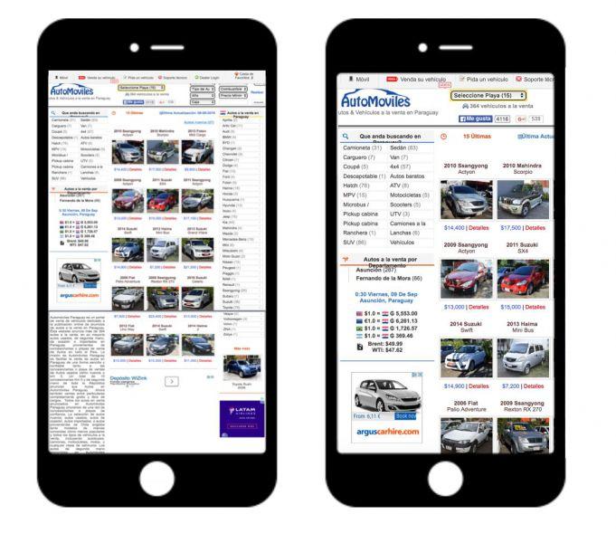 Decidir entre una app o versión móvil