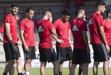 Osasuna prepara el duelo ante la Sociedad Deportiva Eibar con una doble sesión