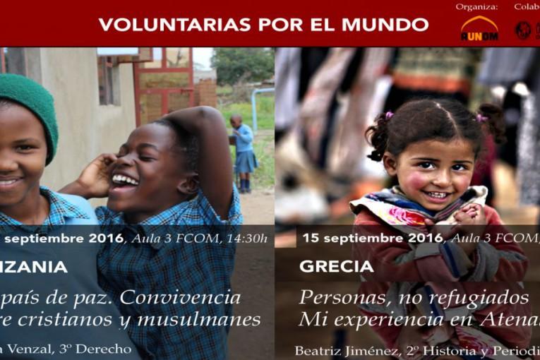 voluntarias por el mundo