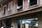 Fallece una mujer en el incendio de una vivienda en la calle Zapatería