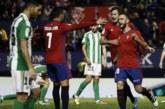Osasuna anhela su primera victoria como local a costa de un Betis mermado