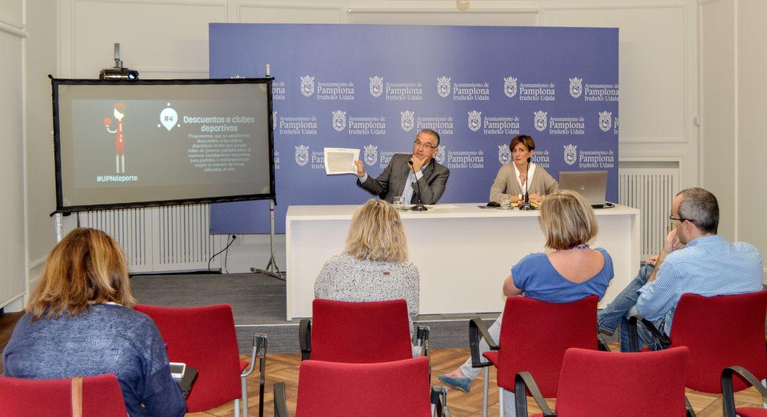 UPN presenta 21 enmiendas a los presupuestos de Pamplona por valor de más de 4 millones de euros