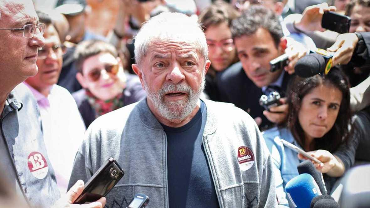 Lula, condenado en primera instancia a nueve años por corrupción en el caso Petrobras