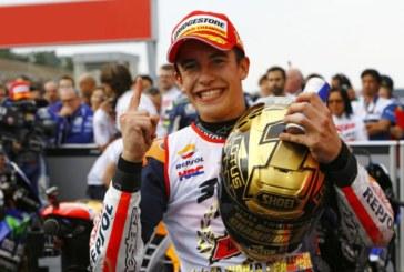 Márquez ya es séptimo en la lista de pilotos con más títulos mundiales