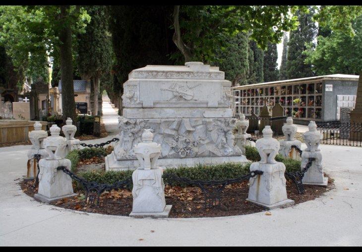 El Ayuntamiento recordará el jueves al violinista y compositor Pablo Sarasate en su panteón del Cementerio de San José