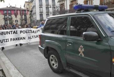 Convocadas 2.259 manifestaciones en 2017 en Navarra, 19 de ellas prohibidas