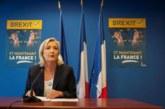 Le Pen ganaría a Macron en la primera ronda de las presidenciales, según un sondeo