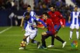 Osasuna se estrena en Leganés con el ánimo de puntuar en su regreso a Primera