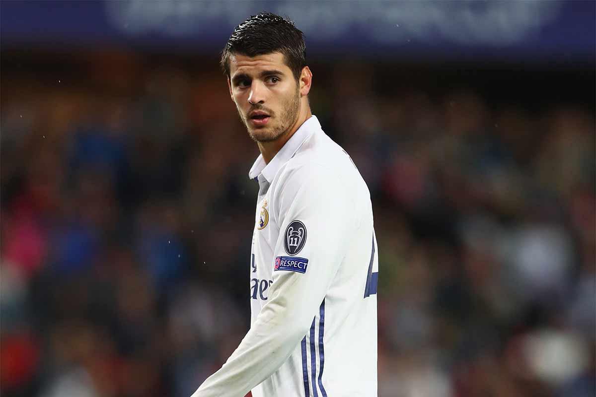 Morata se pierde el derbi madrileño por una lesión muscular