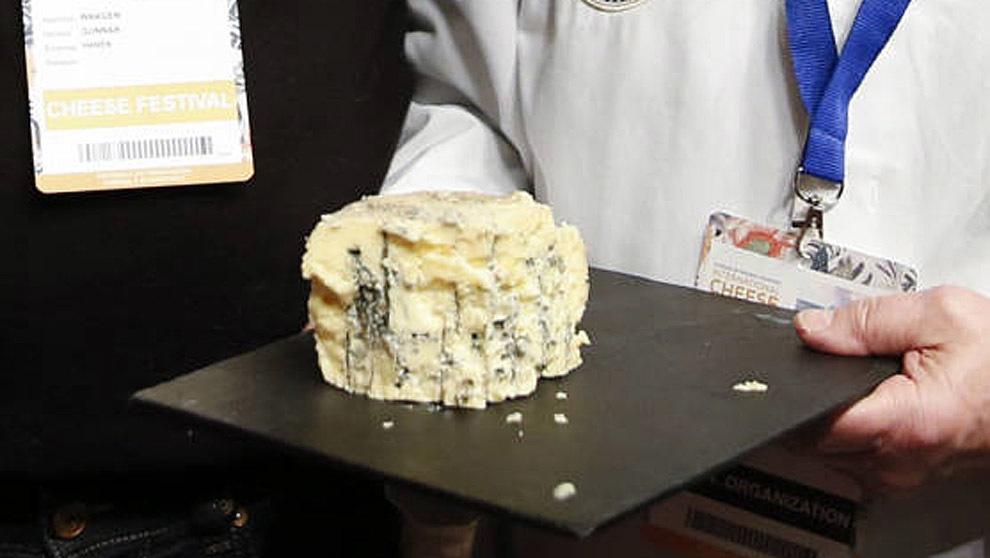 Kraftkar, un queso azul noruego, el mejor del mundo en los World Cheese Awards