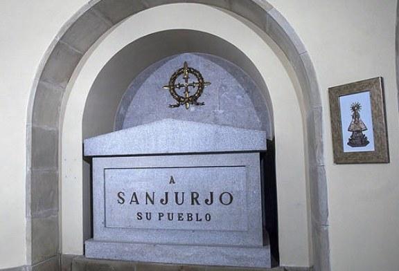 El TSJN avala la exhumación de los restos enterrados en la Cripta de Los Caídos de Pamplona