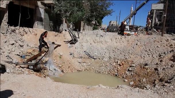 Los bombardeos se ensañan con Alepo y dejan al menos 46 muertos y 106 heridos