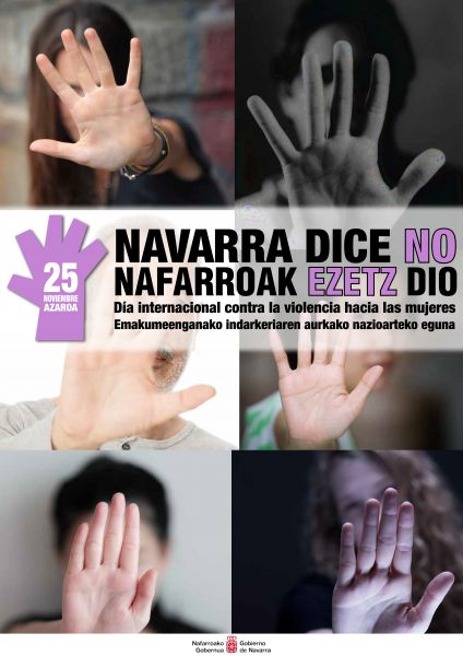 Aumentan un 17% las denuncias por violencia contra las mujeres en Navarra