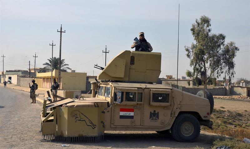 Fuerzas iraquíes recuperan un barrio del oeste de Mosul controlado por el Estado Islámico