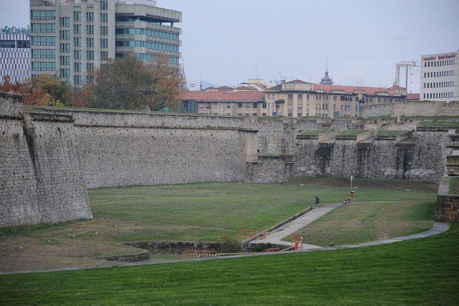 El Ayuntamiento pamplonés gastará 320.000 euros en la conservación y mantenimiento del conjunto fortificado de Pamplona