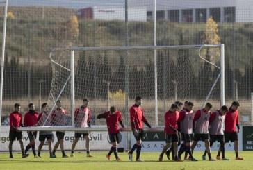 Osasuna retoma los entrenamientos para preparar el último partido de la temporada