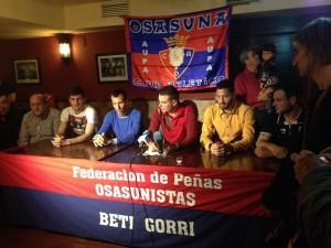 Urabayen, expresidente de las Peñas de Osasuna, será juzgado a partir de este lunes