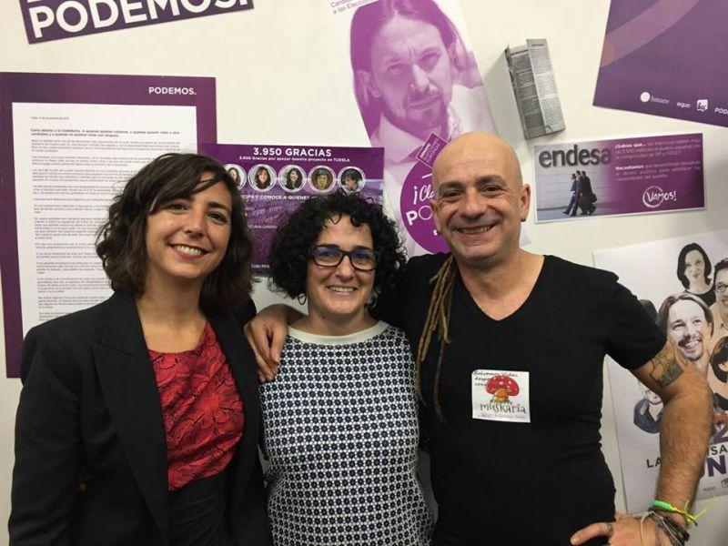 Silvia Jauregui elegida secretaria general de Podemos Pamplona con el 76,65% de los votos