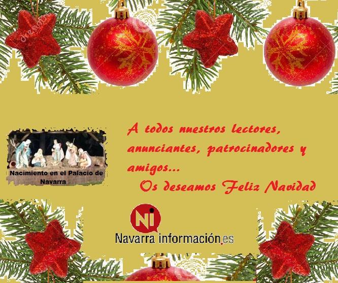 Hoy es fiesta: El equipo de Navarrainformacion.es les desea Feliz Navidad 2017