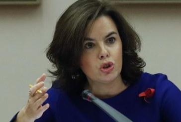 Sáenz de Santamaría pide al PSOE una reflexión para que no se derogue reforma TC