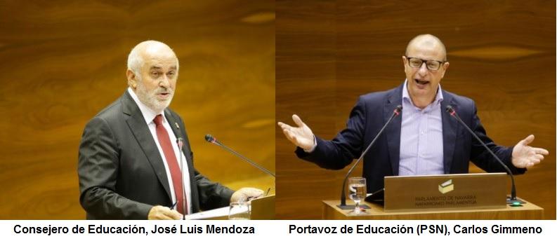 Mendoza dice que la Orden Foral sobre el PAI es «proyecto y revisable»