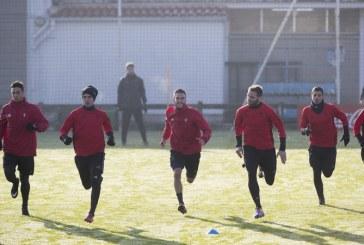Osasuna dispone de 13 jugadores de campo para el partido contra el Sporting