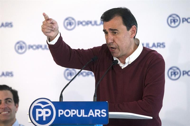 """Maíllo afirma que si Sánchez no retira la moción será """"el judas"""" de España"""